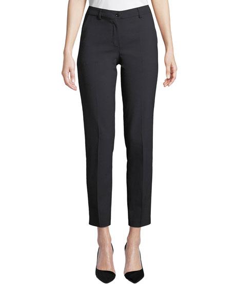 Emporio Armani Midnight Classic Straight-Leg Pants