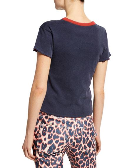 CALVIN KLEIN 205W39NYC Short-Sleeve Jaws T-Shirt