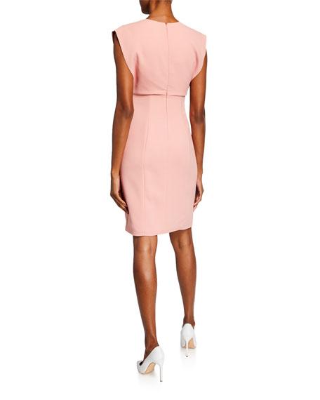 Emporio Armani A-Line Cady Dress