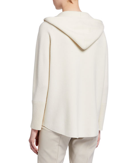 Image 3 of 3: Akris Cashmere Hooded Sweater