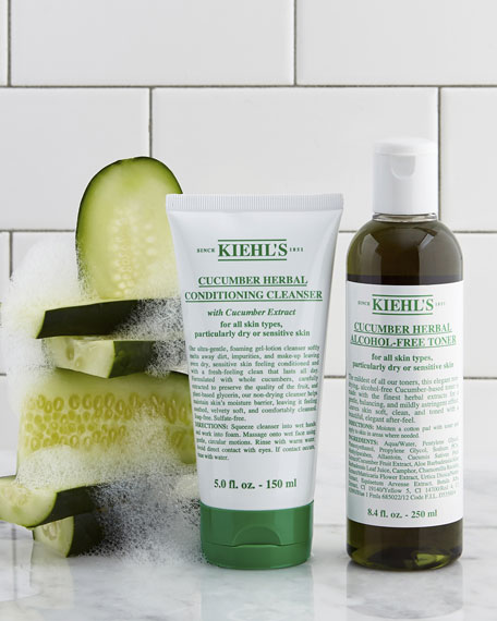 Kiehl's Since 1851 Cucumber Herbal Alcohol-Free Toner, 16.9 oz.