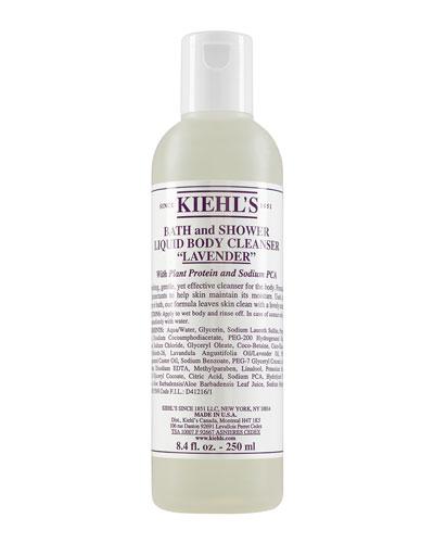 Lavender Bath & Shower Liquid Body Cleanser  8.4 oz.