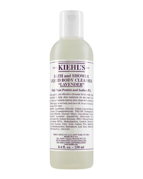 Kiehl's Since 1851 Lavender Bath & Shower Liquid Body Cleanser, 8.4 oz.