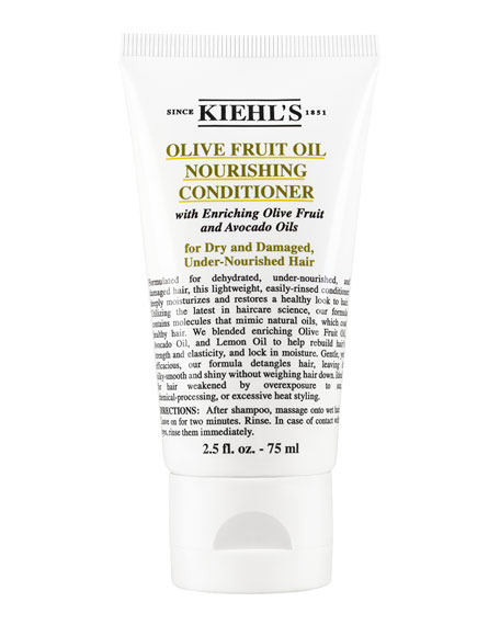 Kiehl's Since 1851 Travel-Size Olive Fruit Oil Nourishing Conditioner, 2.5 fl. oz.
