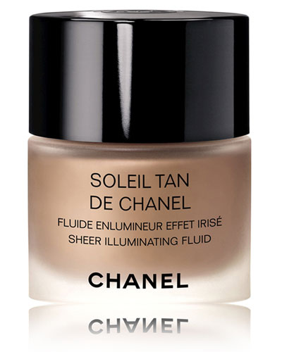 <b>SOLEIL TAN DE CHANEL</b><br>Sheer Illuminating Fluid<br>