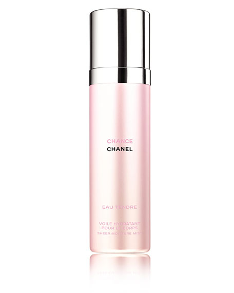 <b>CHANCE EAU TENDRE</b><br>Sheer Moisture Mist 3.4 oz./ 100 mL