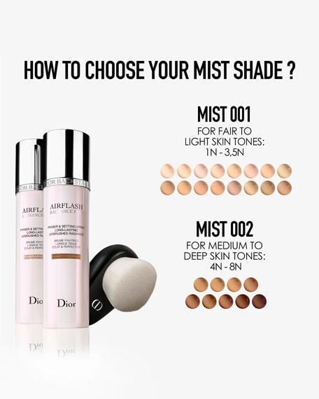Dior Airflash Spray Foundation, 2.5 oz./ 70 mL