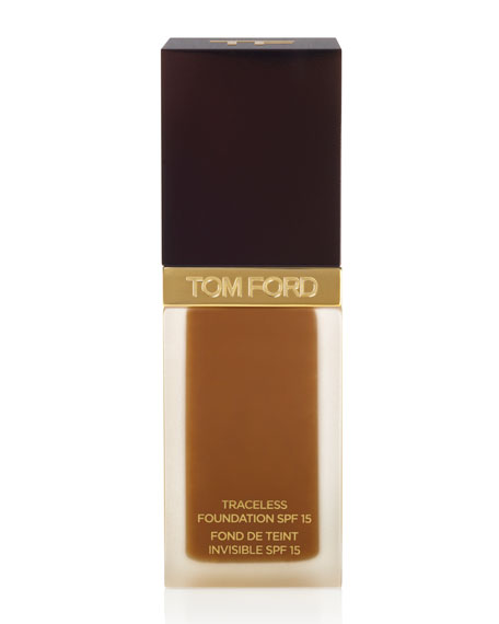 Traceless Foundation SPF15, Warm Almond