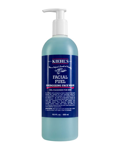 Facial Fuel Gel Cleanser For Men, 16.9 fl. oz.