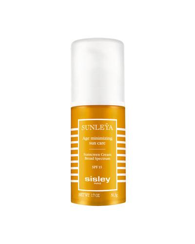 Sunleya Age Minimizing Sunscreen Cream Broad Spectrum SPF15, 1.7 oz.