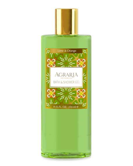 Lime Orange Blossom Shower Gel
