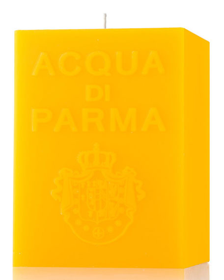 Acqua di Parma Yellow Cube Candle, Colonia