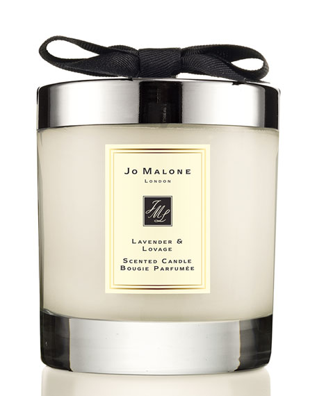 Lavender & Lovage Scented Home Candle, 7 oz