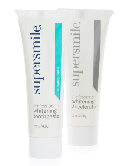 Yours with Any $50 Supersmile Purchase—Online only*