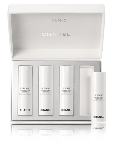 CHANEL BLANC Intensive Night Brightening Treatment Limited Edition