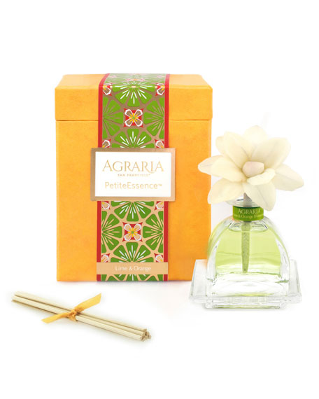 Agraria Lime & Orange Blossoms PetitEssence Diffuser, 1.7 oz./ 50 mL