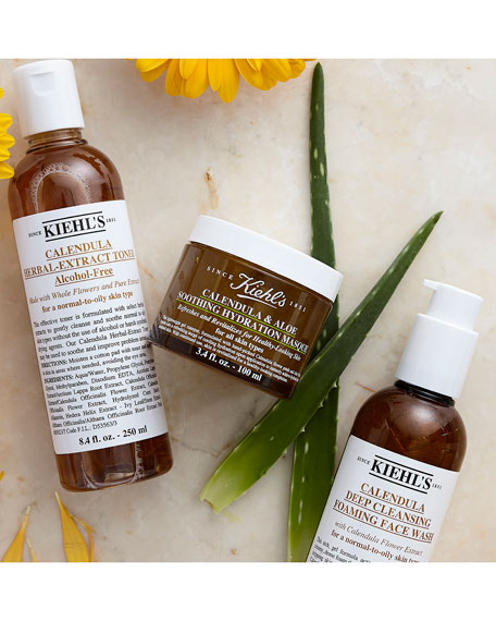 Image 5 of 5: Kiehl's Since 1851 16.9 oz. Calendula Deep Cleansing Foaming Face Wash