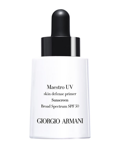 Giorgio Armani Maestro Uv Skin Defense Primer Sunscreen Spf 50, 1 Oz. by Giorgio Armani