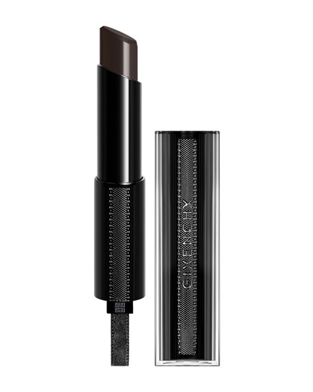 Givenchy Rouge Interdit Vinyl Lipstick, Noir R??v??lateur (Black)