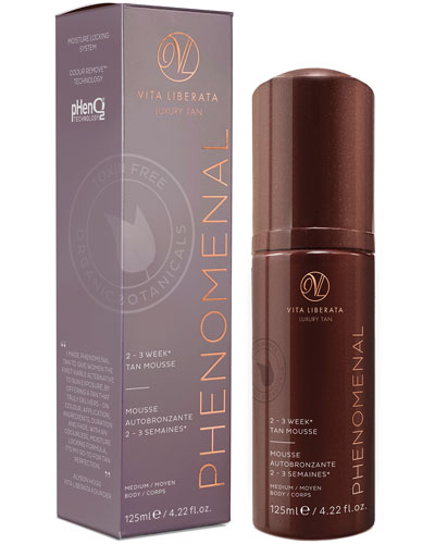 pHenomenal 2-3 Week Self Tan Mousse – Medium, 125 mL