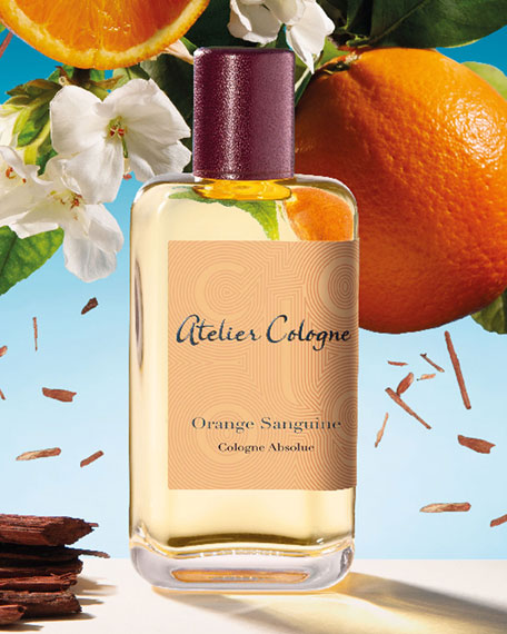 Orange Sanguine Cologne Absolue, 200 mL with Personalized Travel Spray, 30 mL