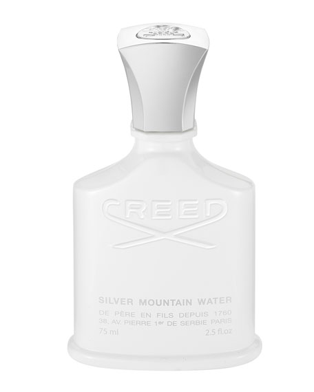 CREED Silver Mountain Water, 2.5 oz./ 75 mL
