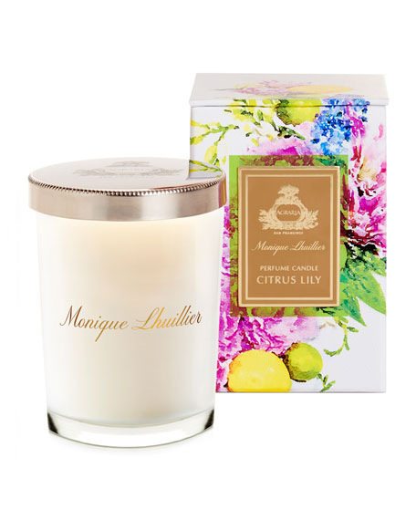Agraria Monique Lhuillier Citrus Lily Crystal Candle, 7