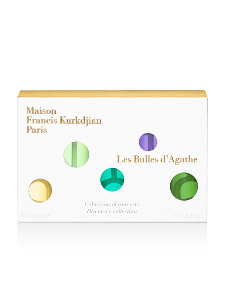Maison Francis Kurkdjian Scented Bubbles Discovery Collection