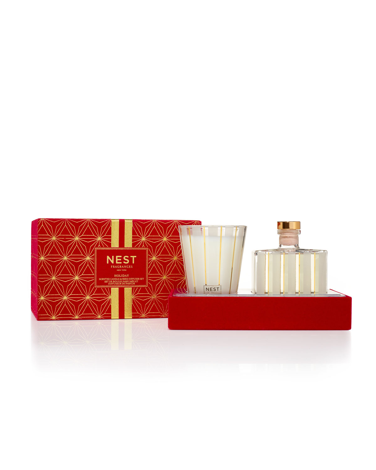 126f8b57c7941 Nest Fragrances Holiday Classic Candle + Diffuser Gift Set
