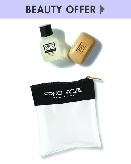 Yours with any Erno Laszlo purchase—Online only*