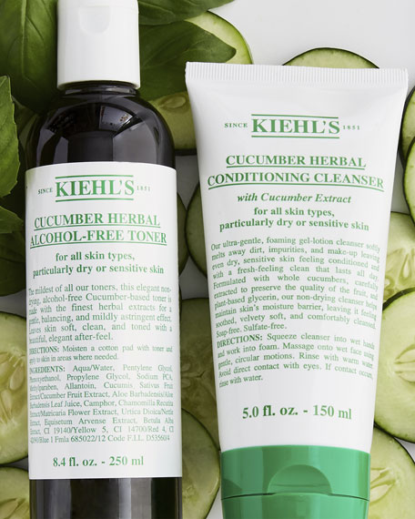 Kiehl's Since 1851 Cucumber Herbal Alcohol-Free Toner, 8.4 oz.