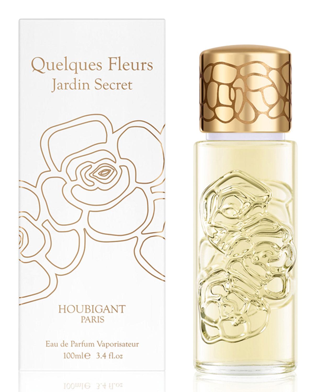Quelques Fleurs Jardin Secret Eau de Parfum, 3.4 oz. 100 mL