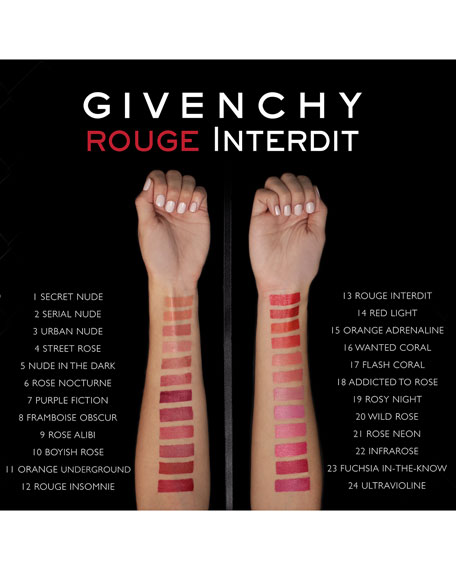 Rouge Interdit Satin Lipstick