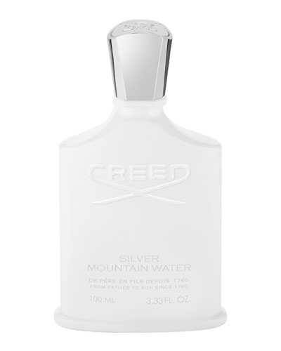 Silver Mountain Water  3.3 oz./ 100 mL