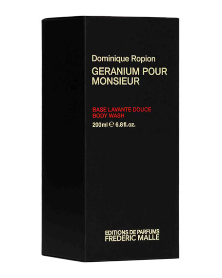 Geranium Pour Monsieur Body Wash, 6.8 oz./ 200 mL
