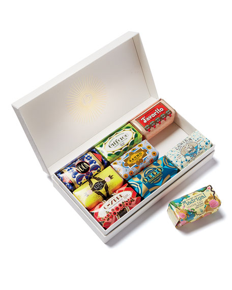 9 Piece Deco Soap Gift Box with Sleeve