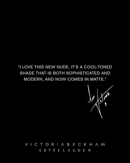 Limited Edition Victoria Beckham 2.0 x Est&#233e Lauder Matte Lipstick