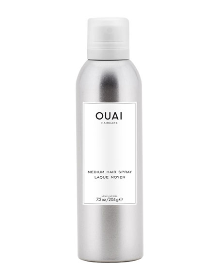 OUAI Haircare Medium Hair Spray, 7.2 oz./ 204