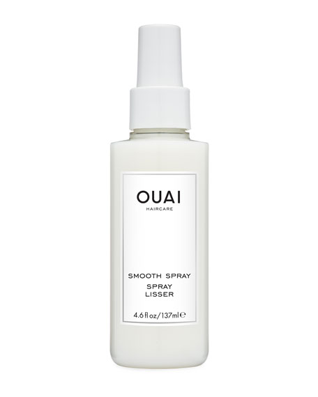 OUAI Haircare Smooth Spray, 4.6 oz./ 137 mL