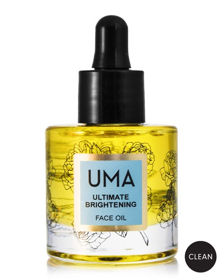 UMA Oils Ultimate Brightening Face Oil, 1.0 oz./