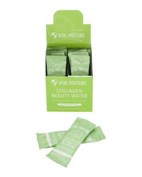 Collagen Beauty Water - Cucumber Aloe (Stick Packs)