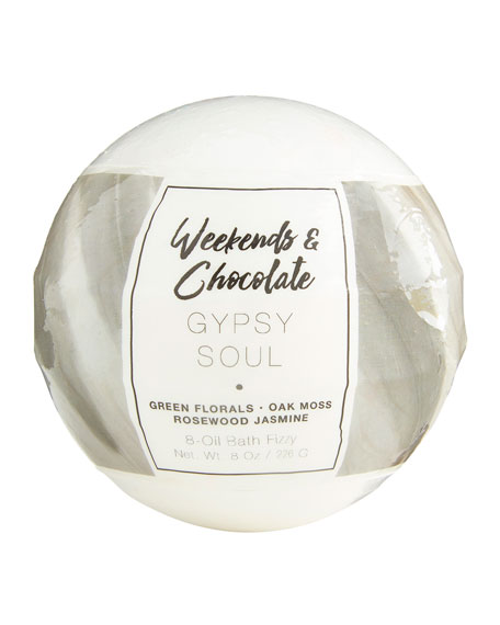 Weekends and Chocolate Large Bath Fizzy - Gypsy Soul, 8 oz / 226 g