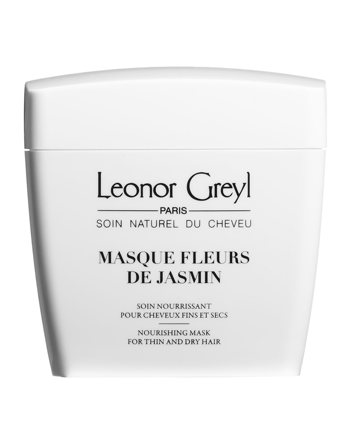 Leonor Greyl Masque Fleurs de Jasmin (Nourishing Mask for Thin and Dry Hair), 7.0 oz./ 200 mL
