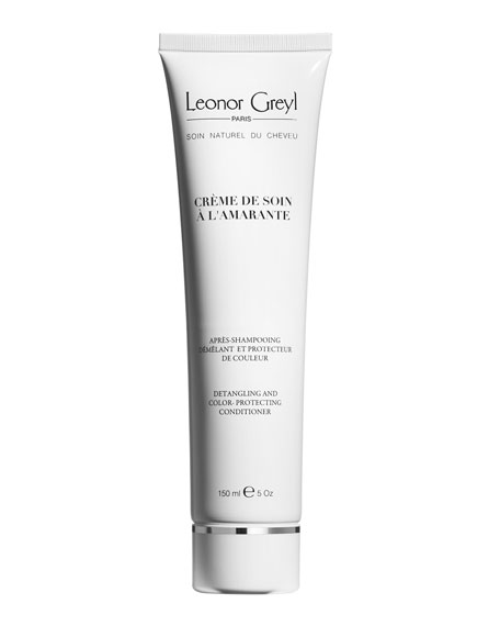 Leonor Greyl Crème De Soin A L'Amarante (Detangling and Color-Protecting Conditioner), 5.1 oz./ 150 mL