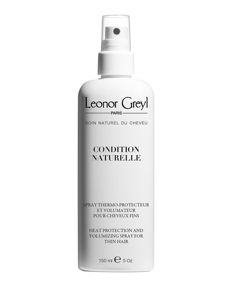 Leonor Greyl Condition Naturelle (Heat Protecting Volumizing Styling Spray for Thin Hair), 5.2 oz./ 150 mL