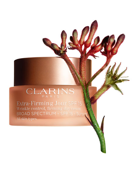 Clarins Extra-Firming Wrinkle Control Firming Day Cream Broad Spectrum SPF 15 - All Skin Types, 1.7 oz./ 50 mL