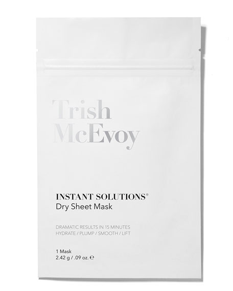 Image 2 of 3: Trish McEvoy Instant Solutions Hydrate & Glow Dry Sheet Mask