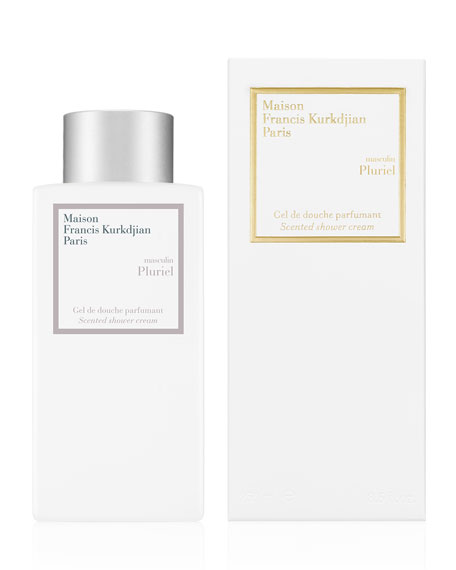 Maison Francis Kurkdjian masculin Pluriel Scented Shower Cream, 8.5 oz./ 250 mL