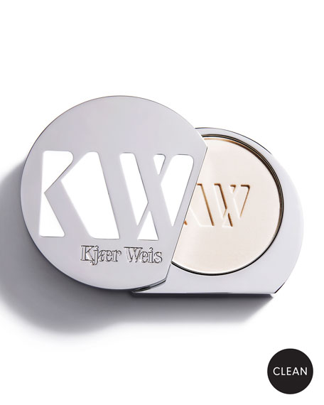 Kjaer Weis Pressed Powder Makeup Compact, 0.2 oz. / 6 g