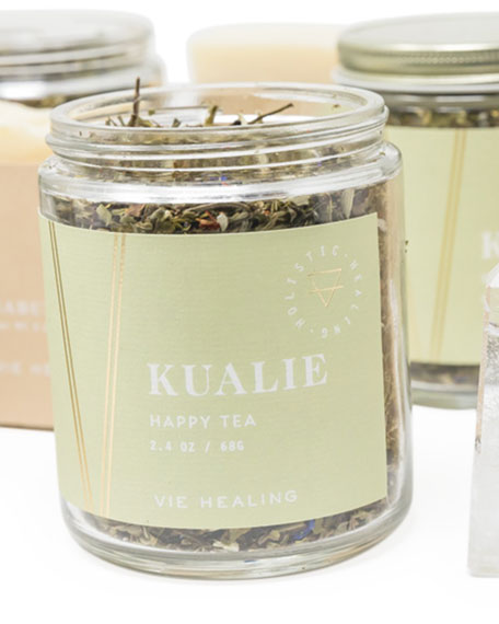 Image 3 of 3: Vie Healing 2.4 oz. Kualie Happy Loose Leaf Tea